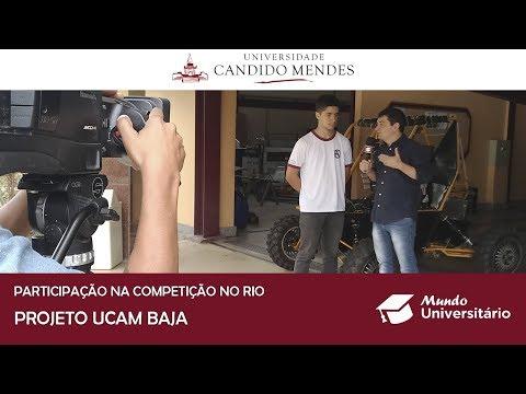 UCAM Baja se destaca em competição no Rio