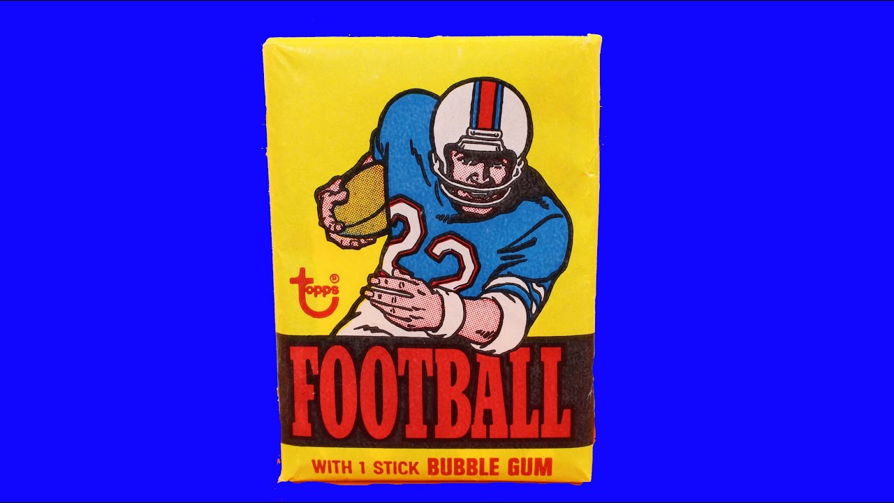 1976 Topps Football Wax Pack Opening Possible Walter Payton Rookie