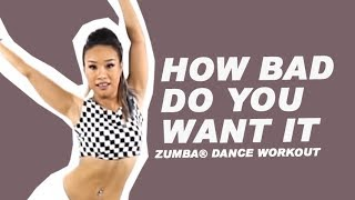 How Bad Do You Want It Sevyn Streeter Furious 7 Zumba Fitness Dance Workout Michelle Vo