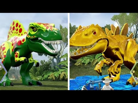 Thumbnail: LEGO Jurassic World - Custom Dinosaurs (Co-op Dinosaur Fights)