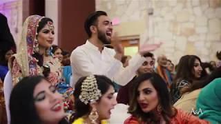 BEST BOLLYWOOD MEHNDI DANCES | FRIENDS & FAMILY | ZAYNAB & IRFAN
