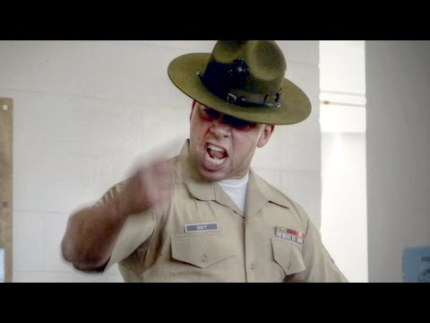 Drill Instructor Gives EPIC Speech – United States Marine Co