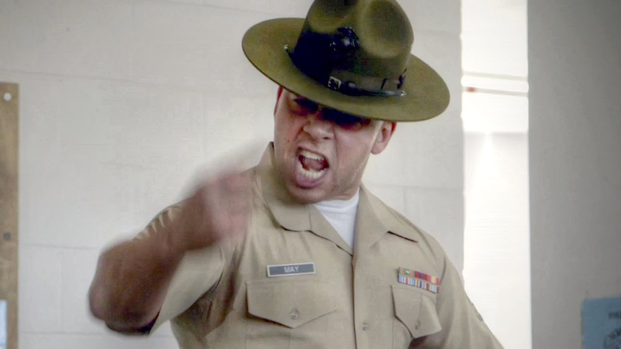 8a9f6527b32 Drill Instructor Gives EPIC Speech – United States Marine Corps Recruit  Training