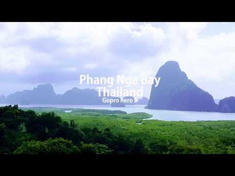 Amazing Phuket Day tour of Phang Nga Bay  Sea Angel Cruise Thailand Gopro 5 ภูเก็ต