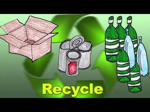 Recycling Song for Children, baby and toddlers song by Patty Shukla
