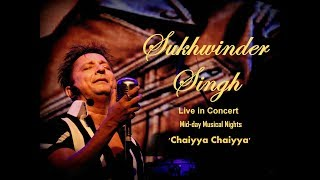 Gambar cover Sukhwinder Singh Live - Chaiyya Chaiyya : Mid-day Musical Nights | Phoenix Marketcity.