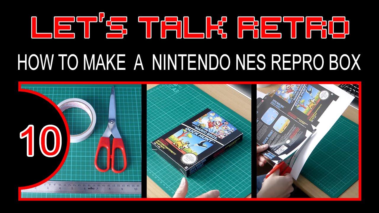 How To Make A Nintendo NES Repro Box - Let\'s Talk Retro (Episode 10 ...