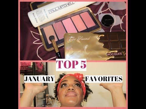 JANUARY TOP 5 BEAUTY FAVORITES!!!