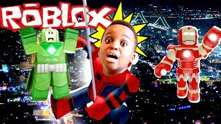 EPIC SUPER HEROES DE ROBLOXIA!!! (NEW HEROES) - Roblox Gameplay - France Playonyx Playonyx