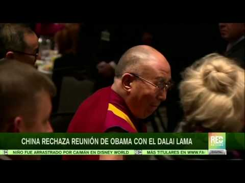 Obama se reunió con el Dalai Lama