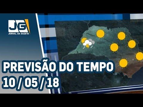 Previsão do Tempo - 10/05/2018