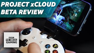 PROJECT xCLOUD REVIEW | XBOX ON A PHONE?!