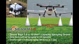 drone sprayer autonomous flight by Android App