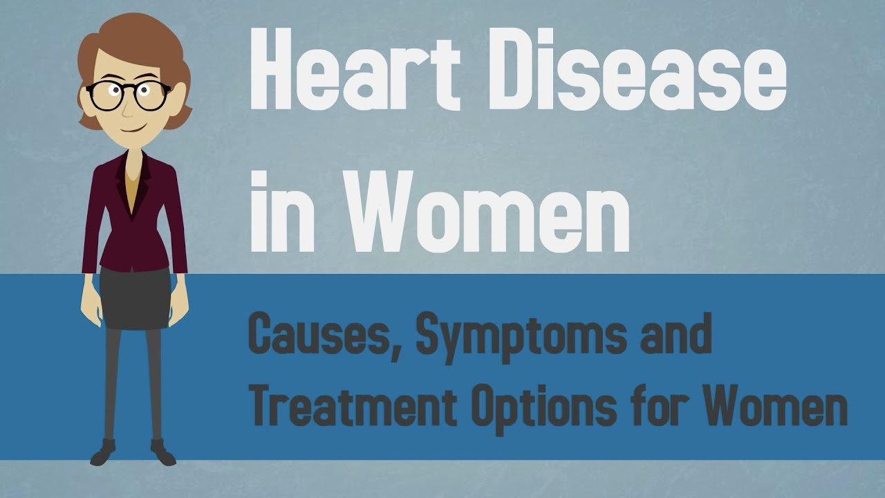 early signs of heart problems in females