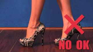 AMIClubwear : How to Walk in Heels