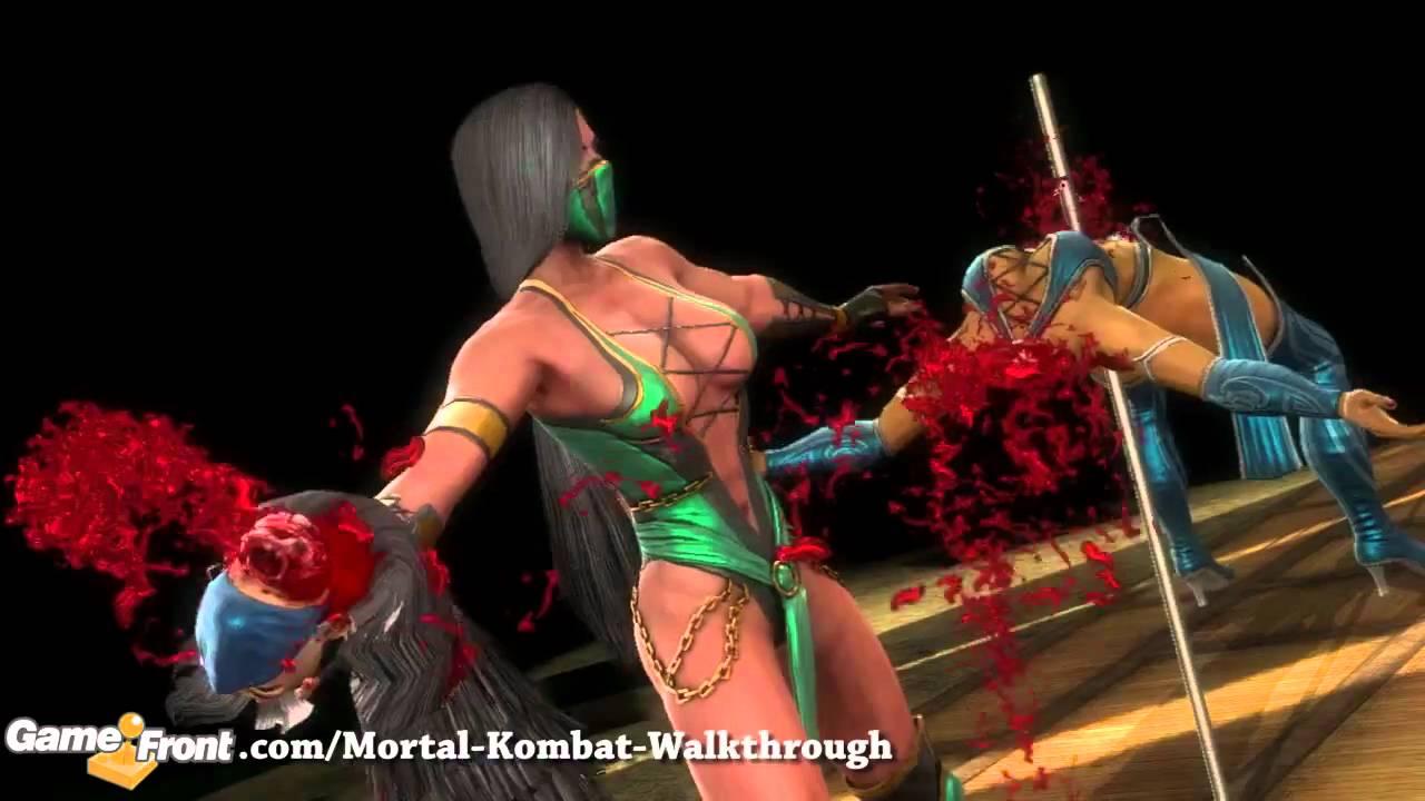 Naked mortal kombat domination