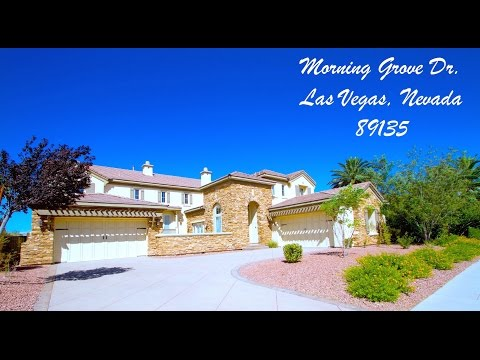 """SOLD"" Red Rock Country Club Luxury Home  Las Vegas, Nevada 89135 For Sale"