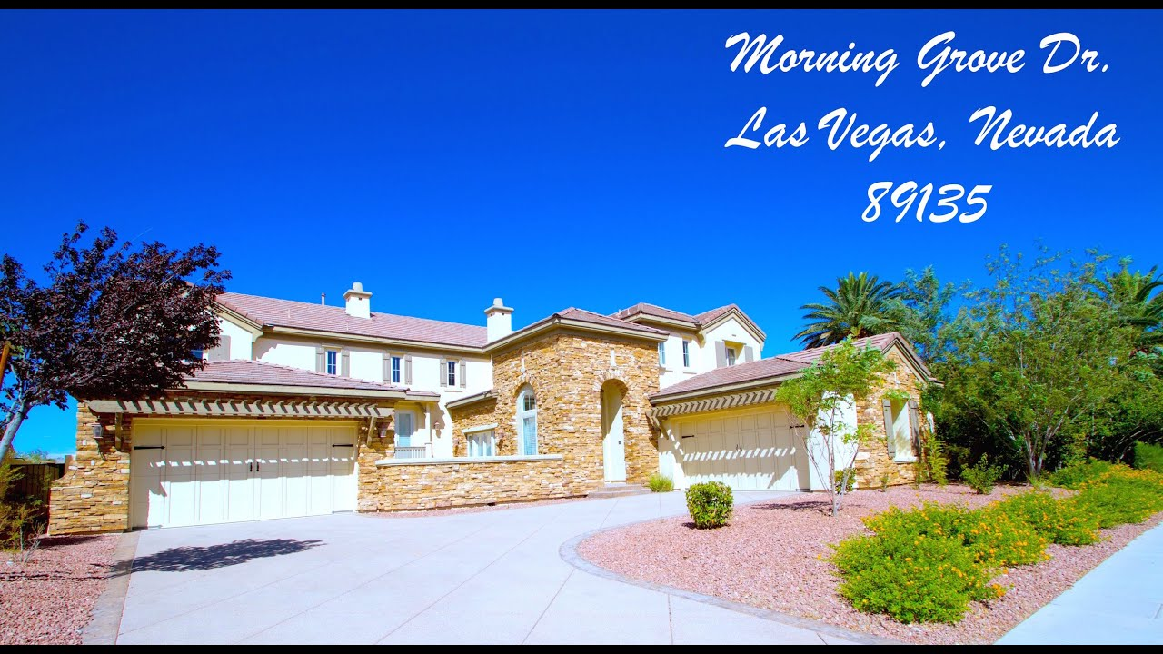 "sold"" red rock country club luxury home las vegas nevada"