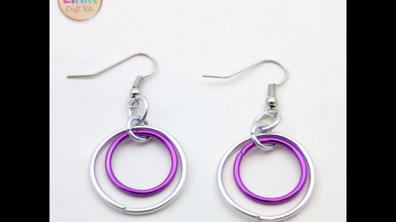 Hoops Loops Stop Motion By Linkt Craft Kits Diy Jewelry For