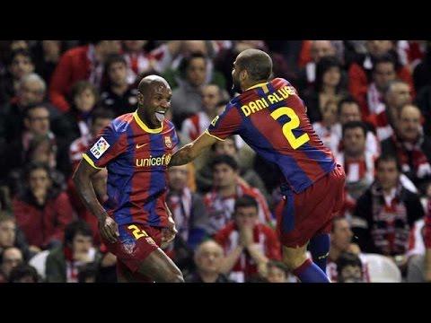 Los goles de Abidal con el FC Barcelona