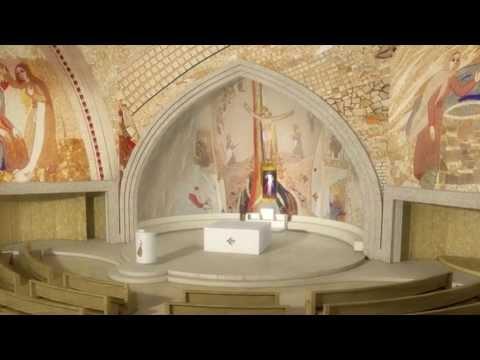 Dolina Miłosierdzia - Projekt wykończenia wnętrza kościoła!