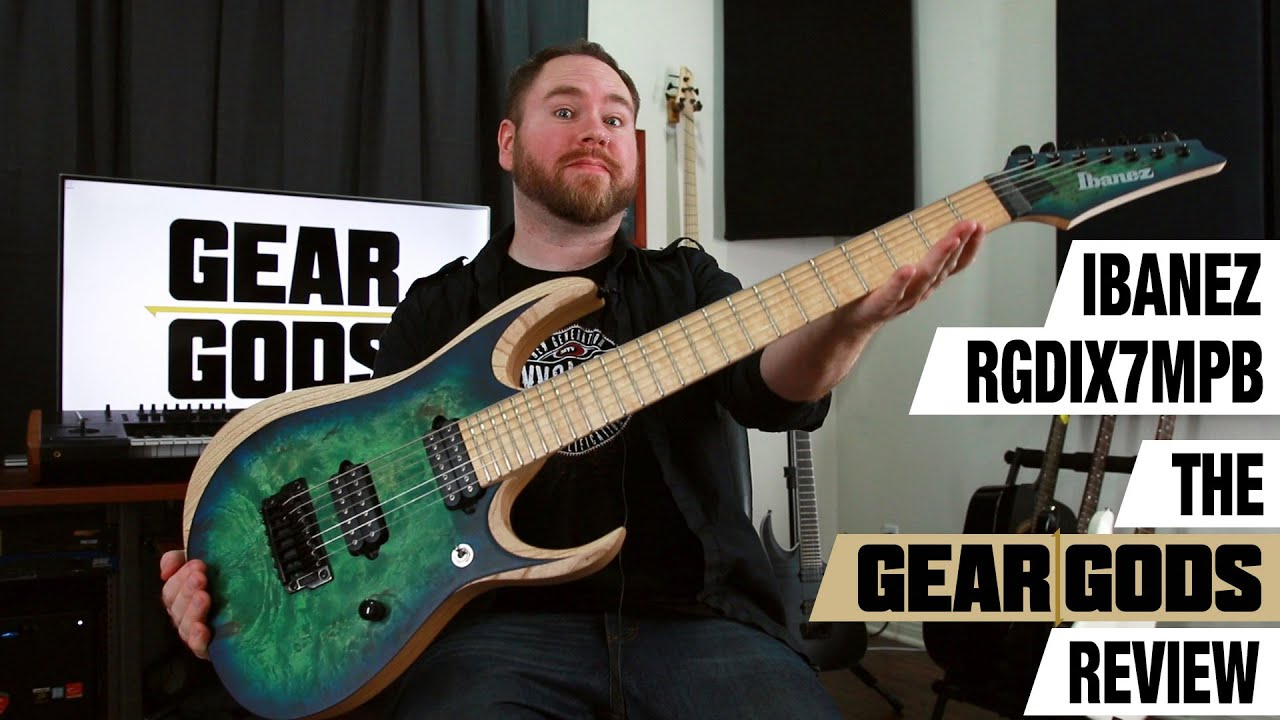 ibanez rgdix7mpb the gear gods review youtube
