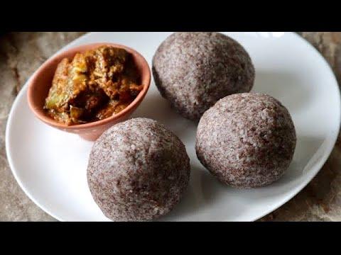 Ragi sangati mudda recipe finger millet dumplings