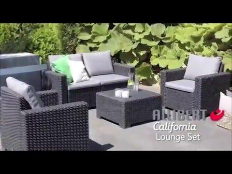 Allibert California Lounge Set - Single Seater - Assembly Video