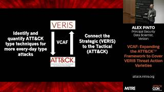 MITRE ATT&CKcon 2018: VCAF: Expanding the ATT&CK Framework to cover VERIS Threat Action Varieties
