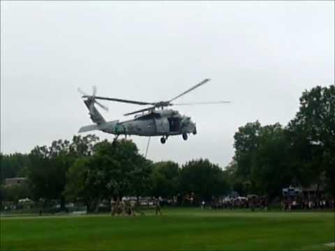 EastBrook Middle school Paramus, NJ OGB Helicopter land