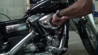 Démontage/ filtre à air/ Harley Davidson Dyna