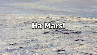 Оно находится на Марсе и никто этого не видит!