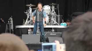 Bruce Springsteen- Thunder Road- Hyde Park 2012 Hard Rock Calling