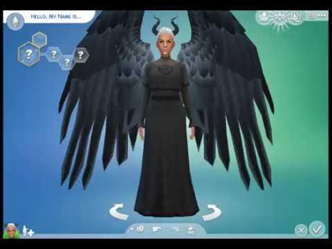 SIMS 4 - White Council - DARK FORM-AL - YouTube