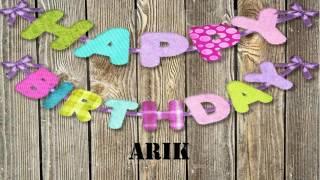Arik   Wishes & Mensajes
