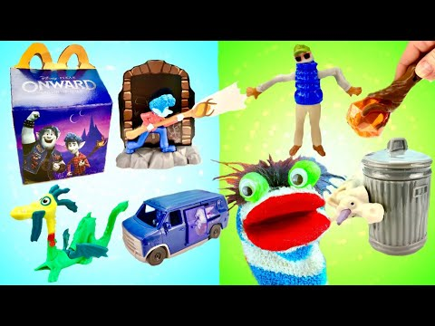 Fizzy Opens Disney Pixar Onward Movie Happy Meal Toys