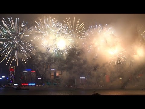 InterContinental Hong Kong, 2015 Chinese New Year Fireworks Show on Victoria Harbour
