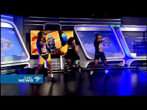 Busiswa thrills SABC viewers with her dance moves