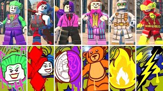 All Special Character Graffiti Art in LEGO DC Super-Villains
