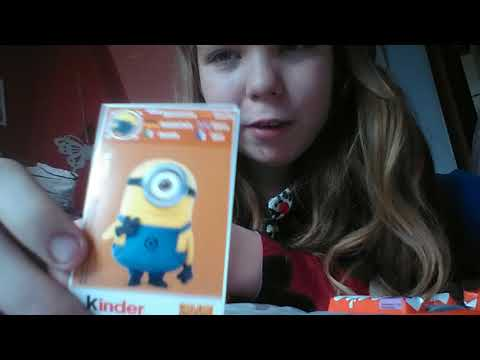 Test kinder chocolate z gru,dru i minionki