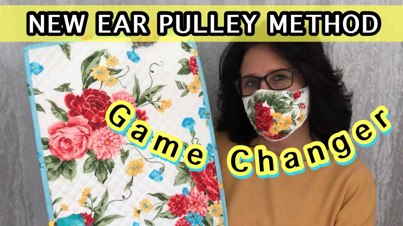 Make The Best Fitting Easy Breathing Face Mask On YouTube | Placemat Mask| Face Mask Sewing Tutorial