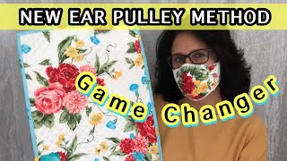 Make The Best Fitting Easy Breathing Face Mask On YouTube Placemat Mask Face Mask Sewing Tutorial