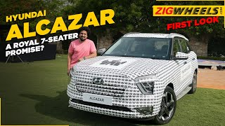 What exactly is the Hyundai Alcazar? | Hands On First Look | ZigWheels.com