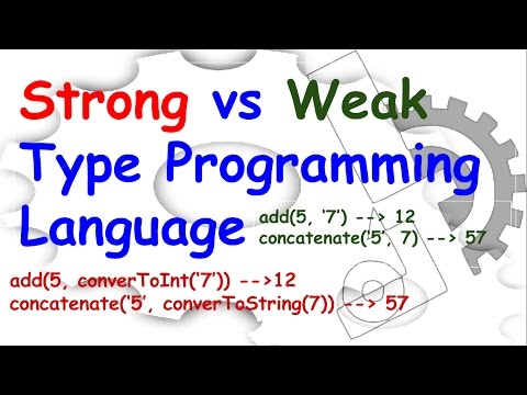 Strong vs Weak typing
