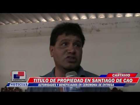 TITULO PROPIEDAD EN SANTIAGO DE CAO