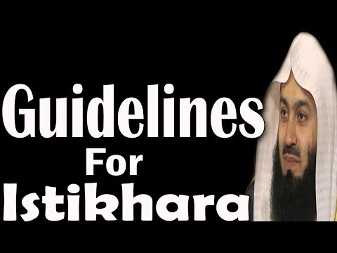 When & How To Ask Allah's Guidance (Istikhara) To Make A Decision | Mufti Menk