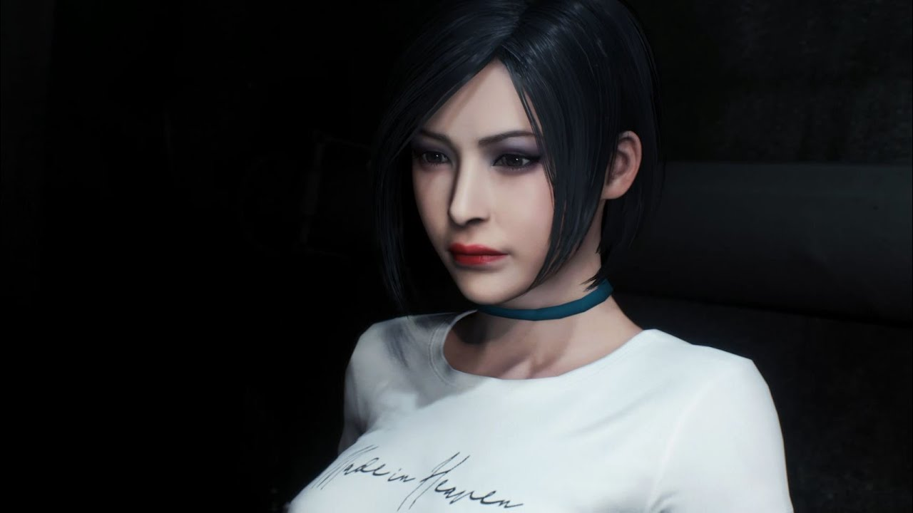 Resident Evil 2 Remake Ada T-Shirt With Skirt Outfit Mod