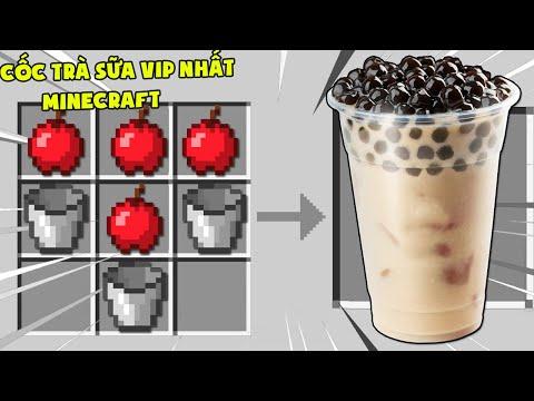 Minecraft, Nhưng Noob Sở Hữu Cốc Trà Sữa Vip Nhất! T Gaming Uống Trà Sữa Và Trở Nên Siêu Mạnh ??
