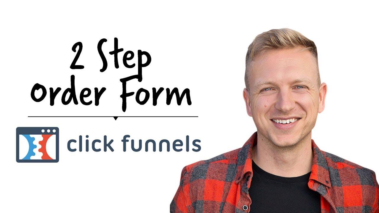 2 Step Order Form Clickfunnels
