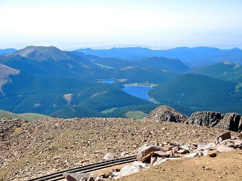 Pikes Peak from Pine Junction, Colorado